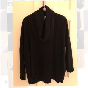 Black Joie Cowl Neck Sweater